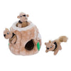 Hide-a-Squirrel Puzzle Dog Toy