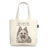 "German Shepherd Tote Bag ""I don't always bark, but when I do..."""