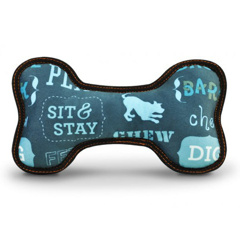 Dog's Life Sit & Stay M/L Soft Toy Bone