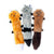 Skinny Peltz Animal Dog Toys 3-Pack (Small)