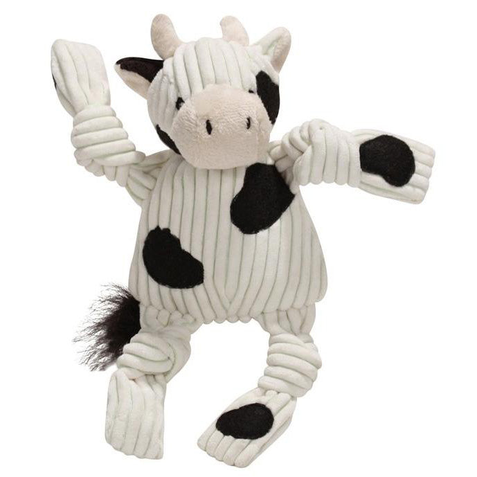 Corduroy Mini Cow Dog Toy