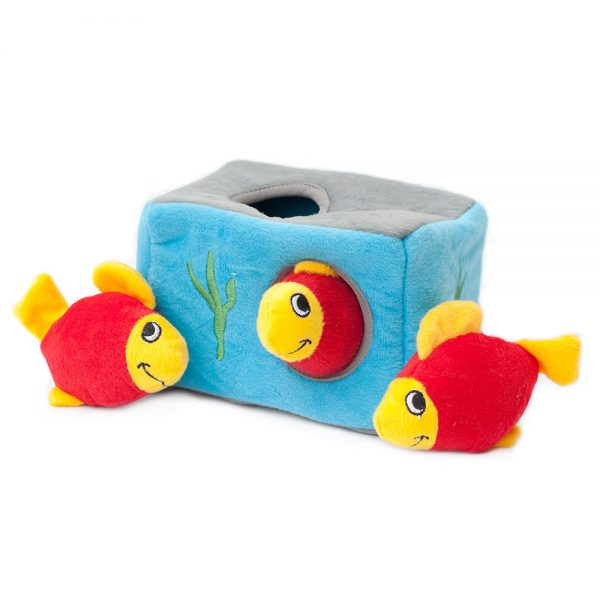 Aquarium Puzzle Dog Toy