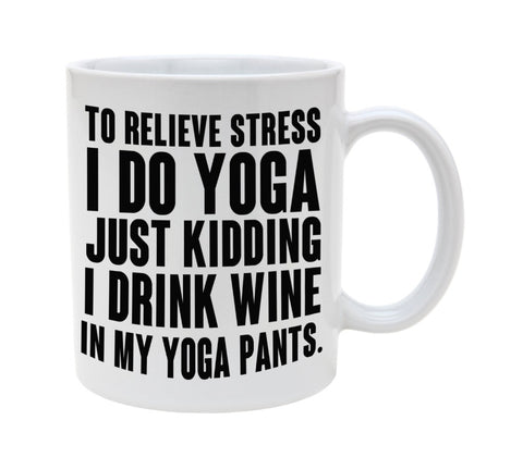 Yoga Coffee Mugs - Plenty of Yoga
