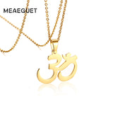 "Ohm Pendant Necklace  20"" Chain - Plenty of Yoga"