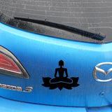 Buddha Zen  Car Sticker For Window Or Bumper - Plenty of Yoga