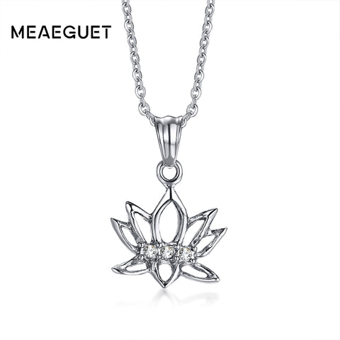 Lotus Pendant Necklace - Plenty of Yoga