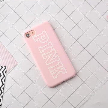 PINK iphone hoesje