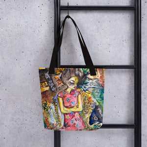 Salty by Sabet Tote bag