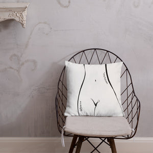 Curves by Sabet Premium Pillow