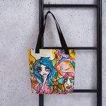 Polar by Sabet Tote bag