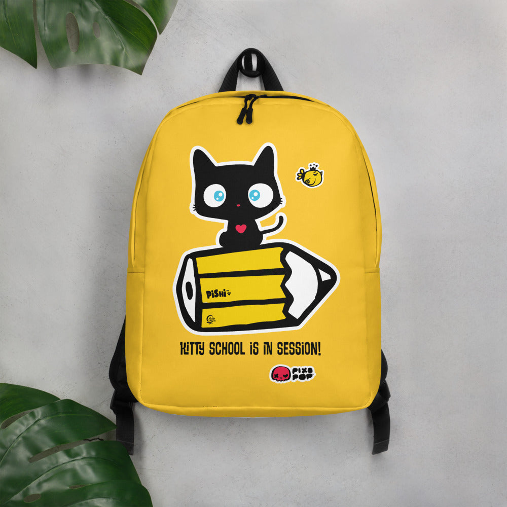 Pixopop Kity School Minimalist Backpack