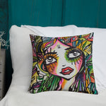 Beautiful Mess by Sabet Premium Pillow