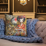 Kyoto baby by Sabet Premium Pillow