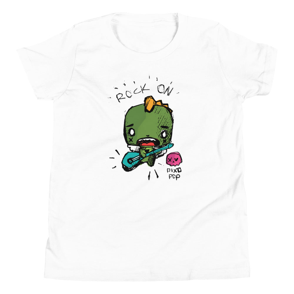 Pixopop Draco Rocks Youth Short Sleeve T-Shirt
