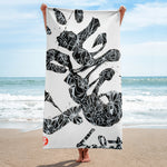Gratitude by Sabet Beach Towel