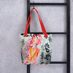 Vogue by Sabet Tote bag