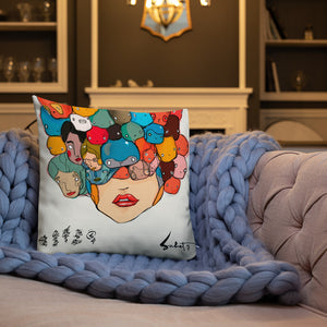 Honey by Sabet Premium Pillow
