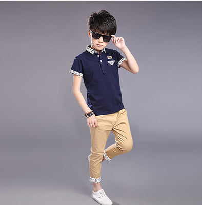 Polo Shirt Clothing Set