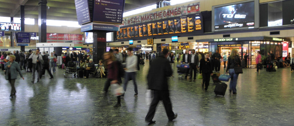 Euston Station: UK's busiest inter-city passenger terminal