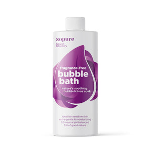 Open image in slideshow, SoPure Fragrance-free Bubble Bath - Nature's soothing bubblelicious soak - SoPure - Nature's Laboratory