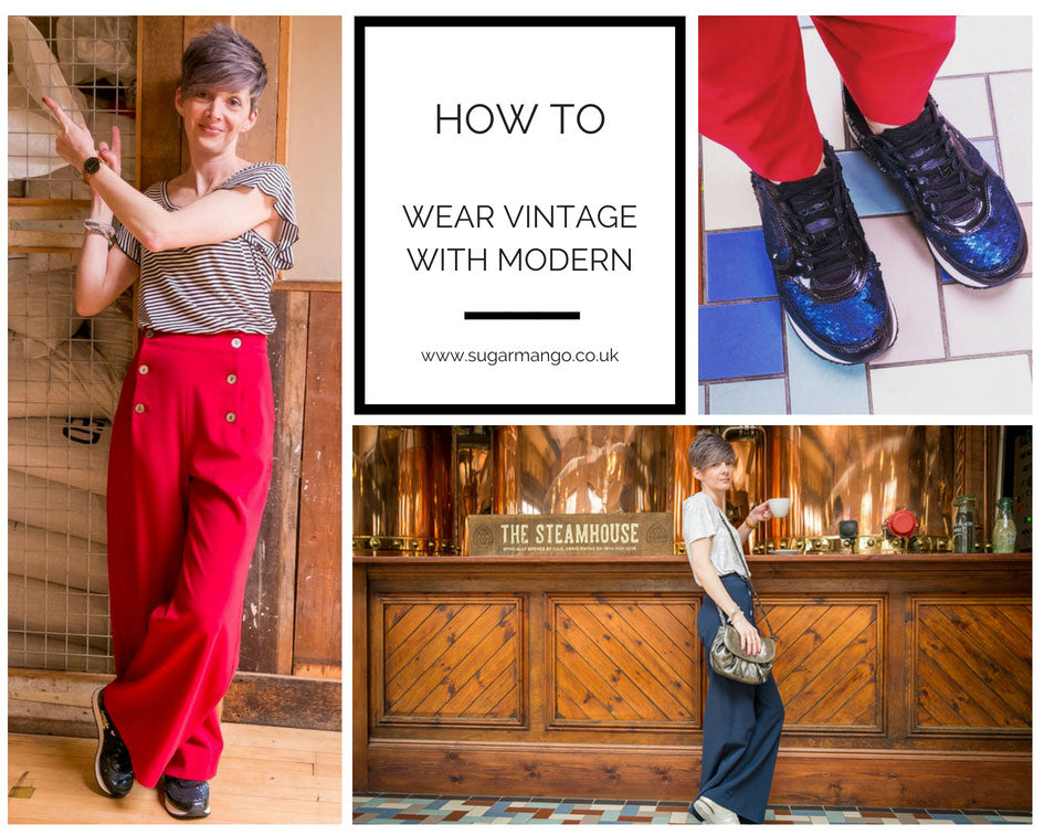 How To Wear Vintage With Modern Fashion