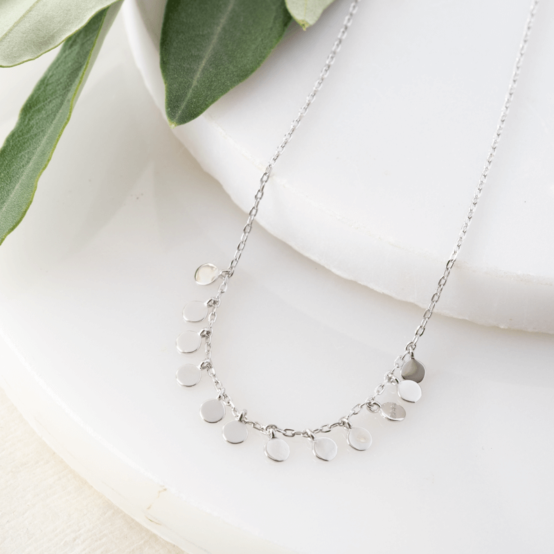 sterling silver layering necklaces