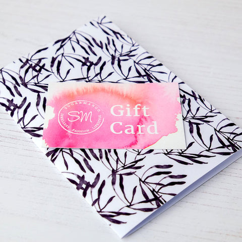 Gift Card Sugar Mango