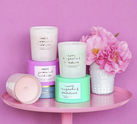 Gifts For Her Scented Candles Bombay Duck
