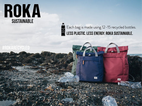 Roka Sustainable Backpacks and bags