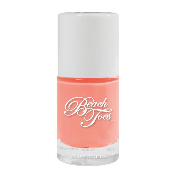 beach toes coral nail varnish endless summer