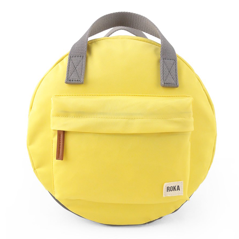 Round backpack yellow