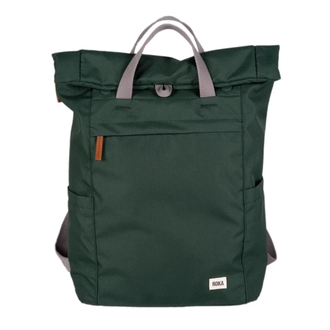 Roka Backpack Finchley Sustainable Forest Green