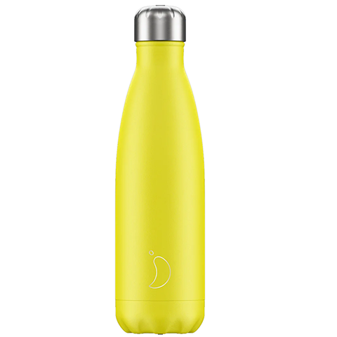 Chilly's neon yellow bottle 500 ml