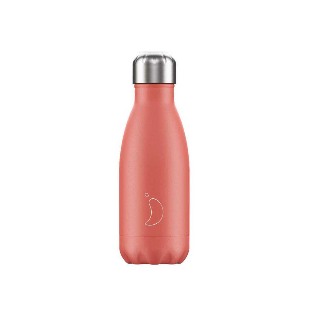 chillys water bottle small coral 260ml bournemouth