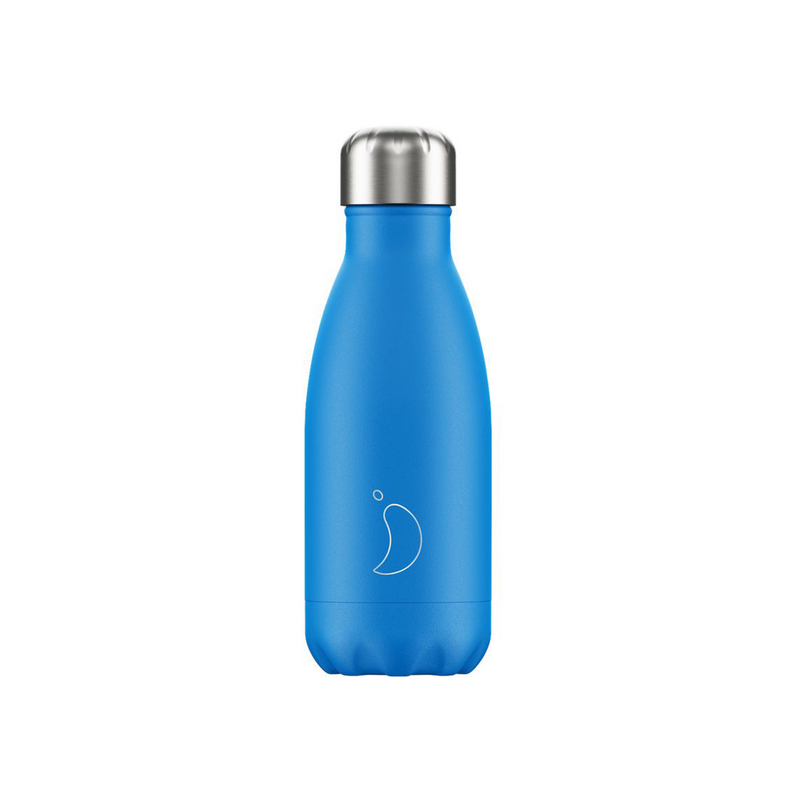 Chillys neon blue small 260ml bottle bournemouth