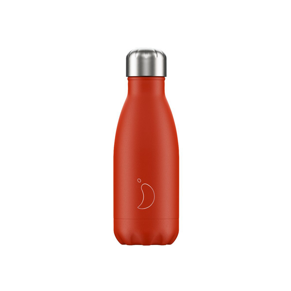 Chillys water Bottle Small Neon Red  260ml Bournemouth