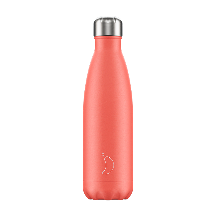 Chilly's water bottle pastel coral 500ml