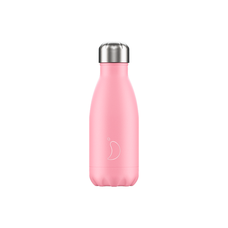Chillys Water Bottle Pastel Pink Small 260ml