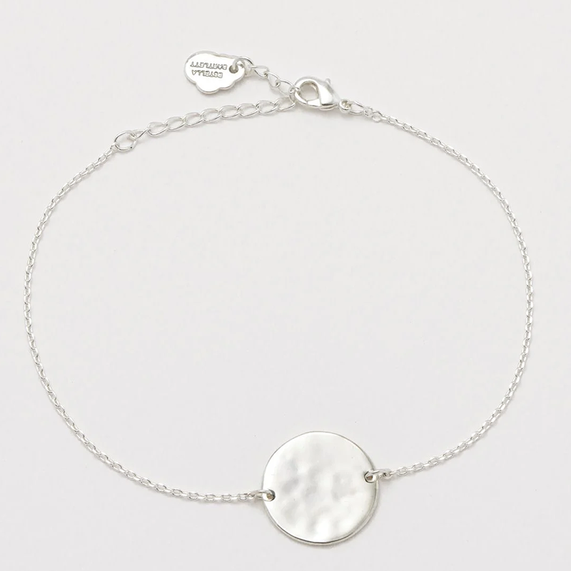 Estella Bartlett hammered disc bracelet