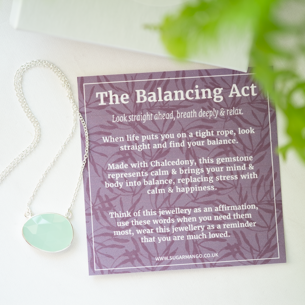 chalcedony meaning card