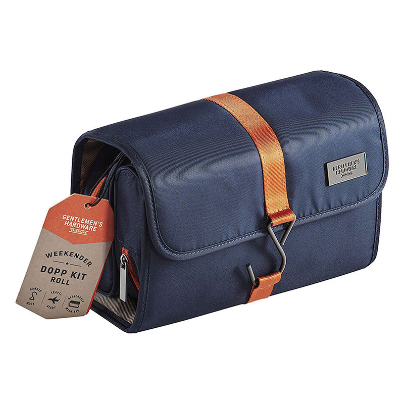 Dopp kit roll for men