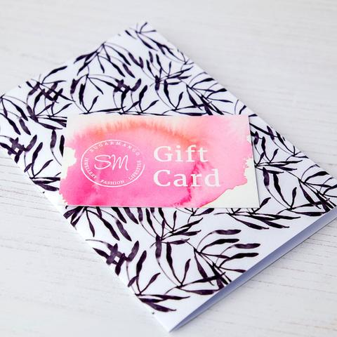 Sugar Mango Gift Card