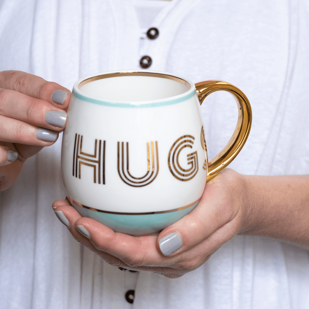 gift for a friend hugs mug bombay duck
