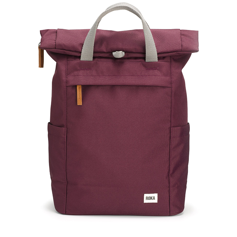 Roka backpack bags sustainable Finchley Sienna