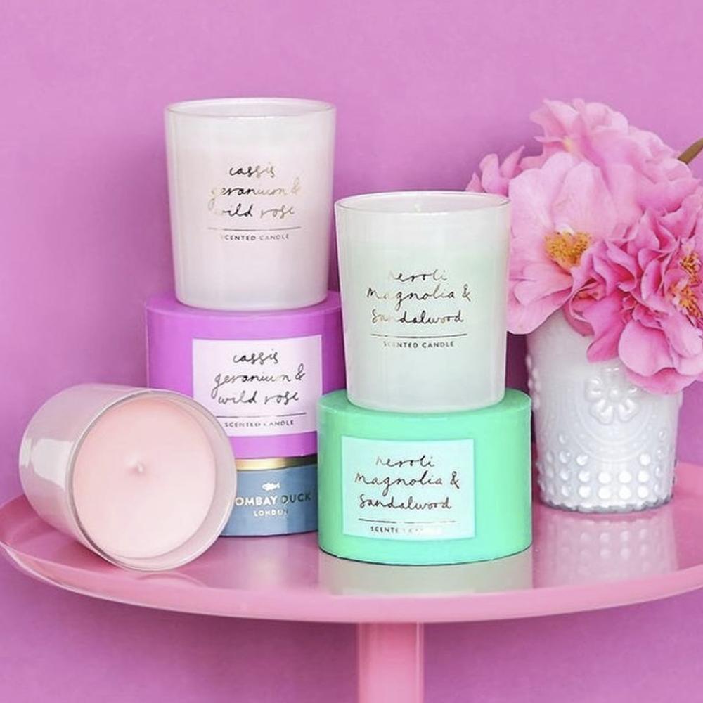 boxed scented candles bombay duck