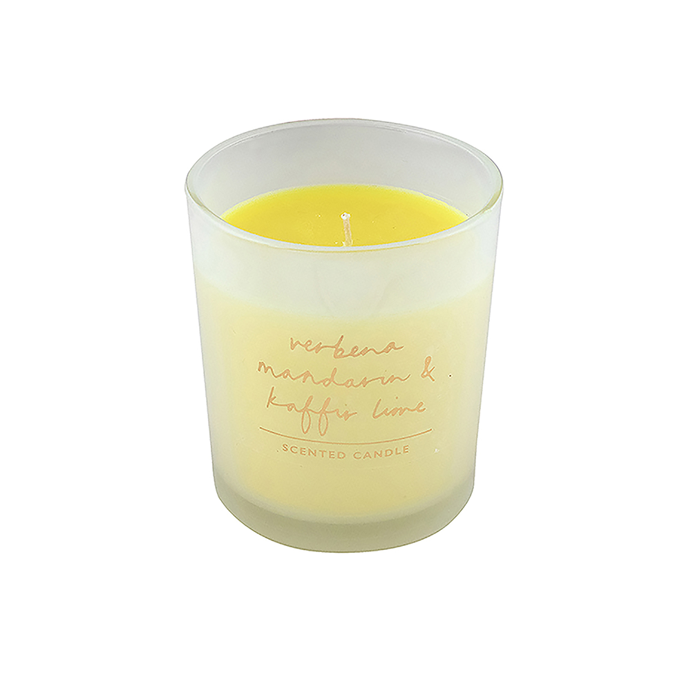 bombay duck scented candle boxed verbena