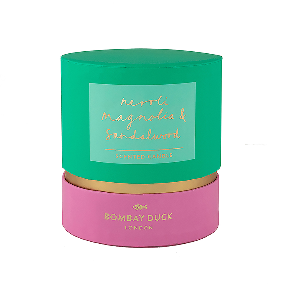 scented candle boxed bombay duck