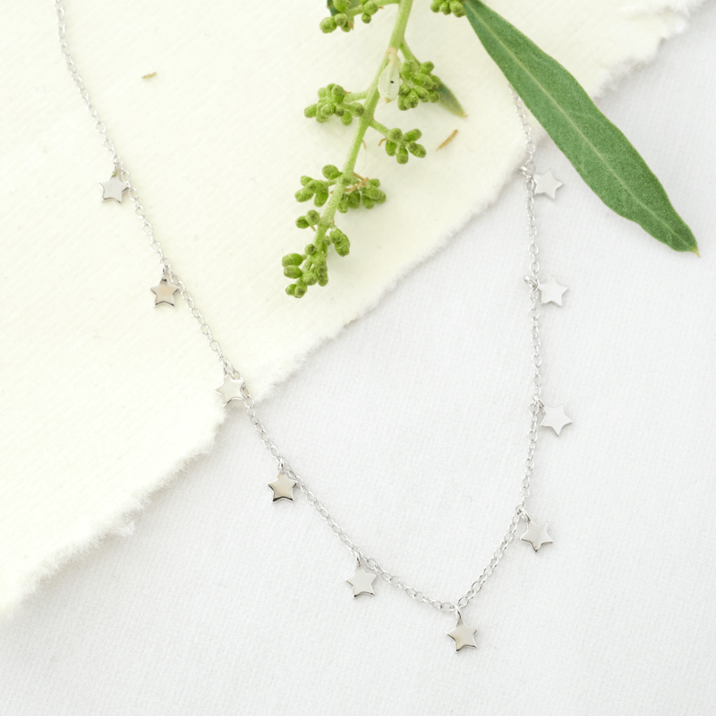 star necklace silver