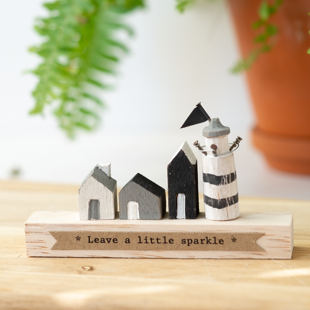 small wooden seaside ornament
