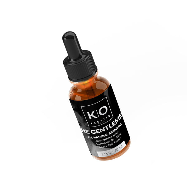 2 Bottles of The Gentlemen Growth Beard Oil KO
